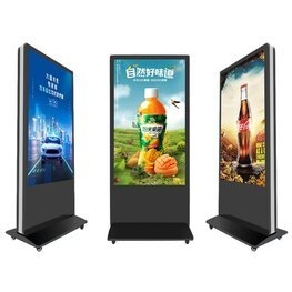 立式双屏广告机